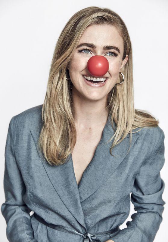 Melissa Roxburgh - Red Nose Day 2019 Photoshoot