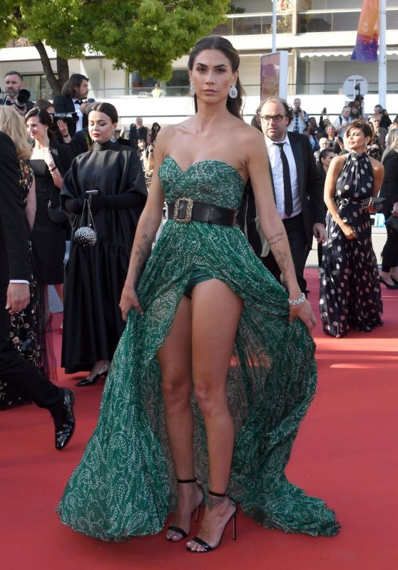 "Melissa Satta – ""Les Miserables"" Red Carpet at Cannes Film Festival"