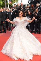 "Michelle Rodriguez – ""Once Upon a Time in Hollywood"" Red Carpet at Cannes Film Festival"