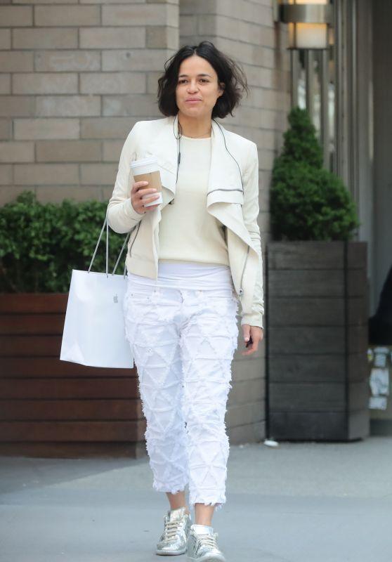 Michelle Rodriguez Street Style 05/15/2019