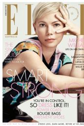 Michelle Williams - ELLE Magazine Australia June 2019 Issue