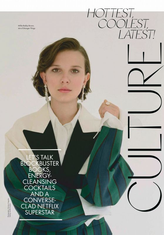 Millie Bobby Brown – ELLE Magazine Australia June 2019 Issue
