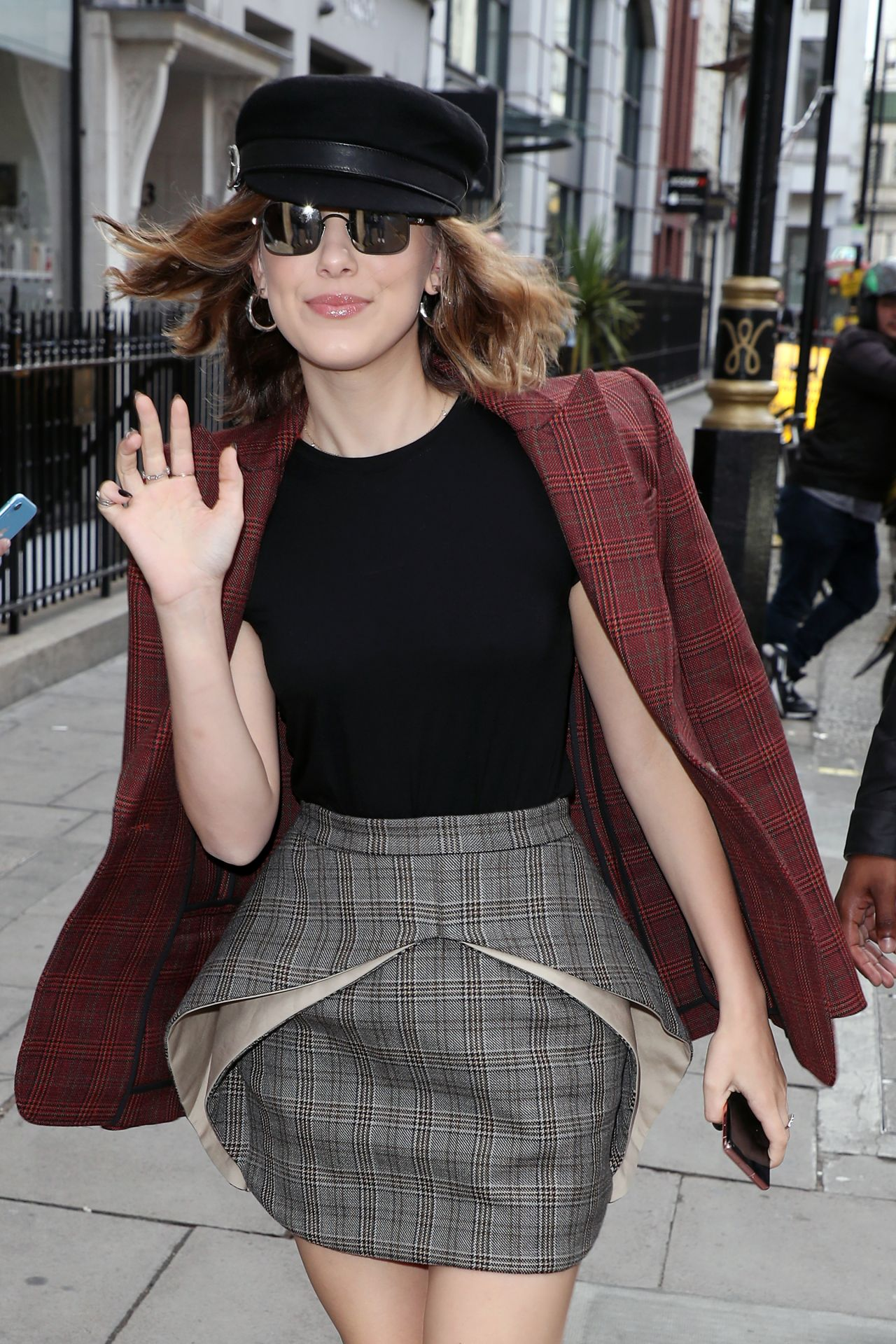 Millie Bobby Brown Looks Chic At Kiss Fm Uk Radio Studios