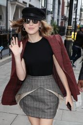 Millie Bobby Brown Looks Chic at KISS FM UK Radio Studios in London 05/28/2019
