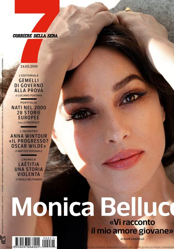 Monica Bellucci - Corriere Della Sera Sette 05/24/2019