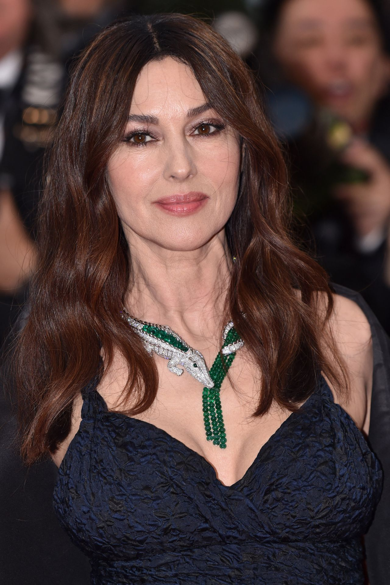 Monica Bellucci The Best Years Of A Life Red Carpet At