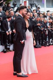 """Nabilla Benattia – """"A Hidden Life"""" Red Carpet at Cannes Film Festival"""