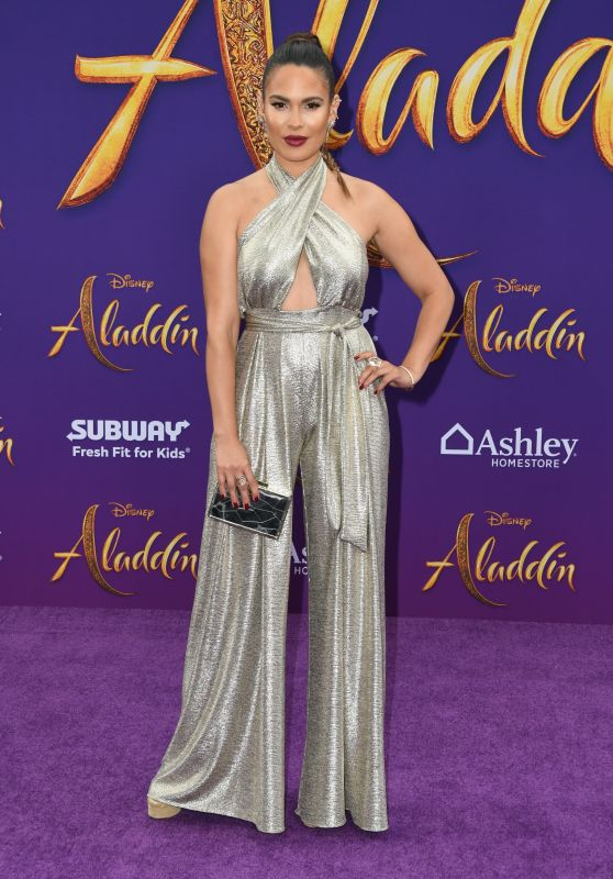 "Nadine Velazquez – ""Aladdin"" Premiere in Hollywood"