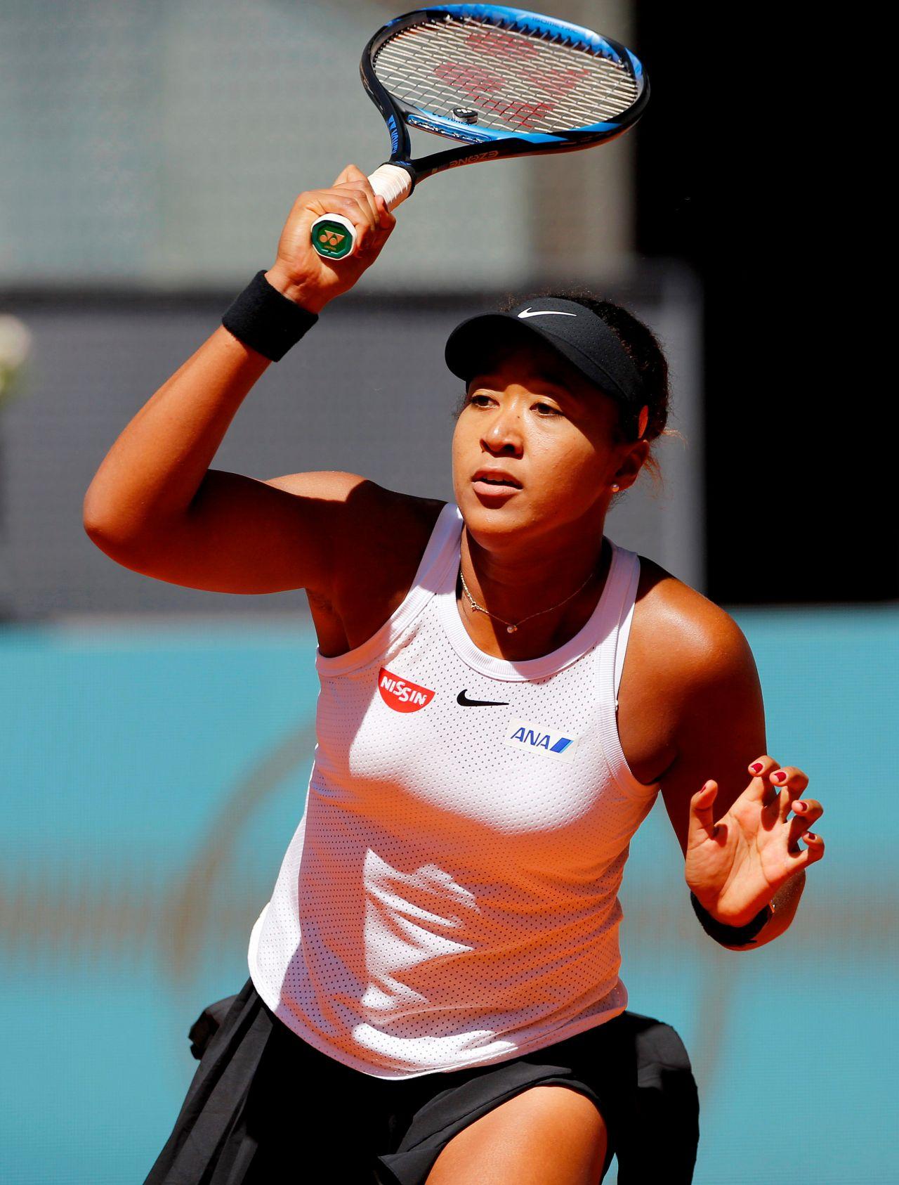 Naomi Osaka - Mutua Madrid Open Tennis Tournament 05/05/2019