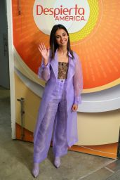 Naomi Scott -Despierta America in Miami 05/23/2019
