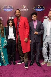 "Naomi Scott - VIP Screening of ""Aladdin"" With Jordanian Royal Family in Amman"