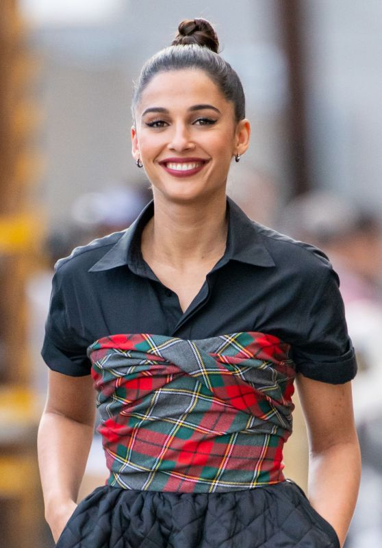 Naomi Scott - Visits Jimmy Kimmel Live! in Hollywood 05/20/2019