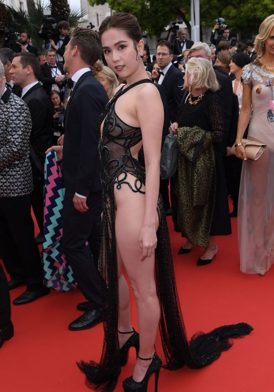 "Ngoc Trinh – ""A Hidden Life"" Red Carpet at Cannes Film Festival"