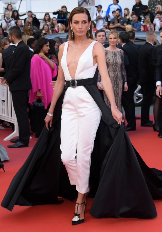 "Nieves Alvarez – ""Les Miserables"" Red Carpet at Cannes Film Festival"