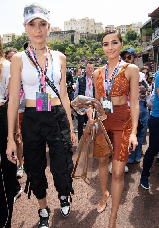 Olivia Culpo and Josephine Skriver – F1 Grand Prix of Monaco 05/26/2019