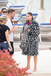 Olivia Culpo - Photoshoot in Cannes 05/23/2019