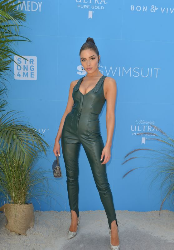 Olivia Culpo – SI Swimsuit On Location in Miami 05/10/2019