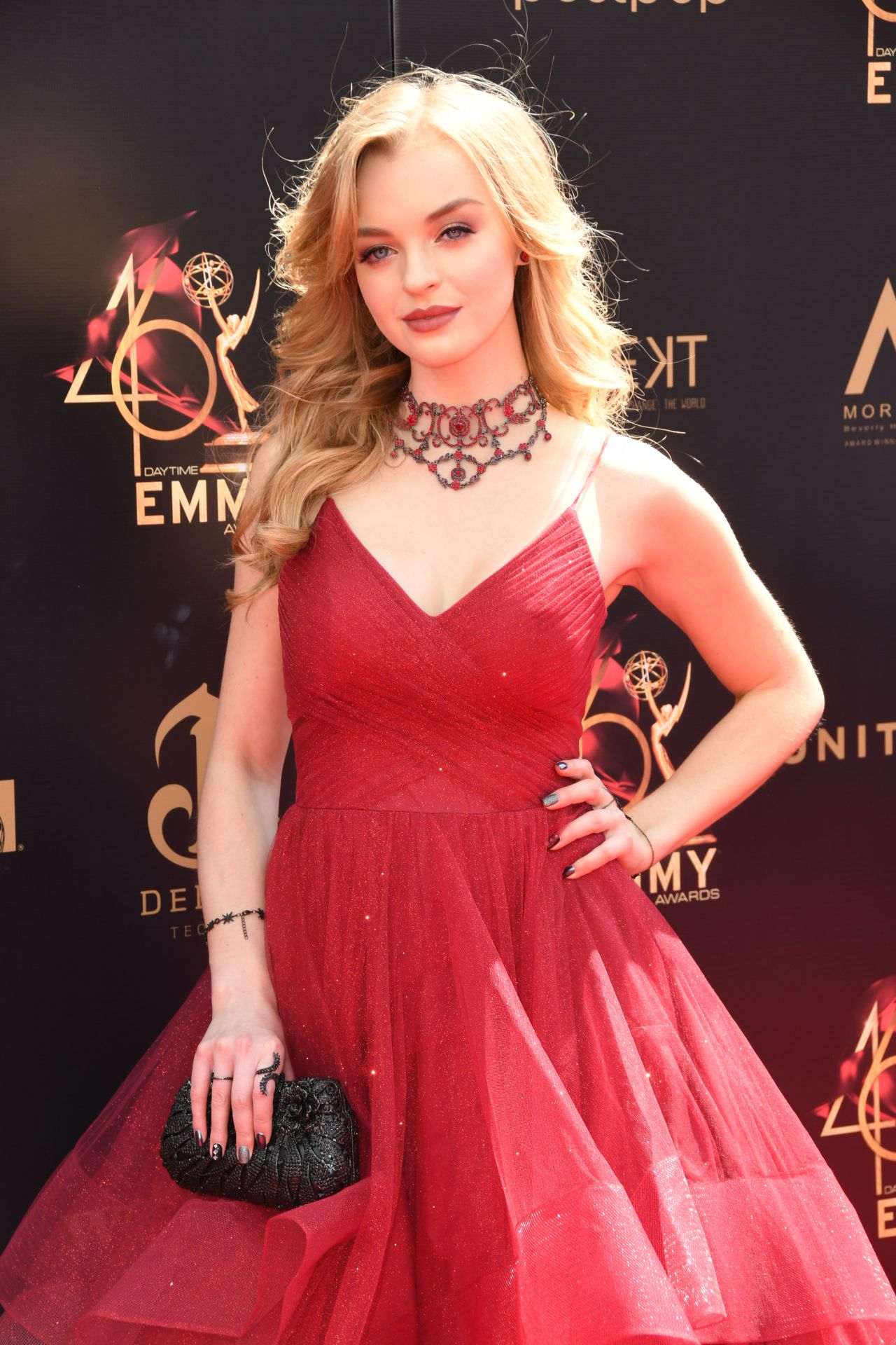 Olivia Rose Keegan 46th Annual Daytime Emmy Awards In