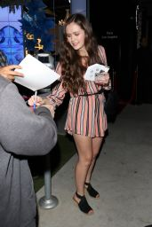 Olivia Sanabia - Signs For Fans Outside Hayley Orrantia's New EP Release Party 05/28/2019