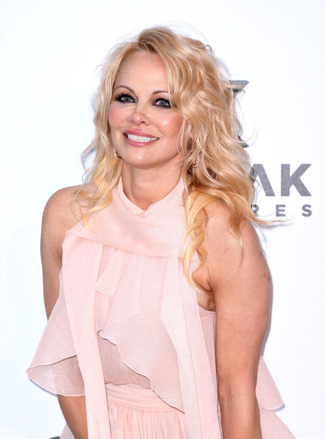 Pamela Anderson - amfAR Cannes Gala 2019 • CelebMafia