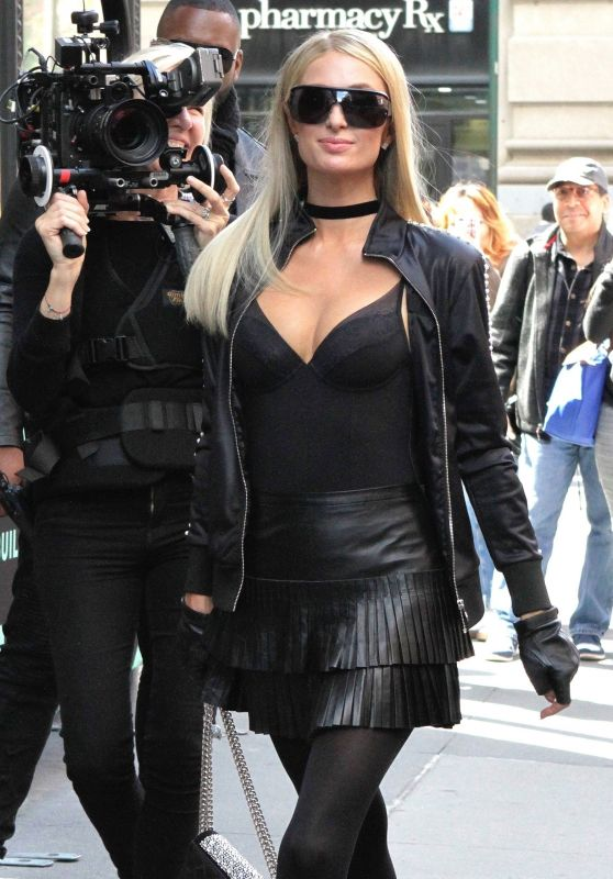 Paris Hilton - Arrives at the BUILD Series in NYC 05/15/2019