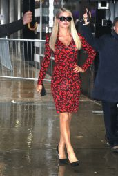 Paris Hilton - Arriving at Good Morning America in New York 05/13/2019