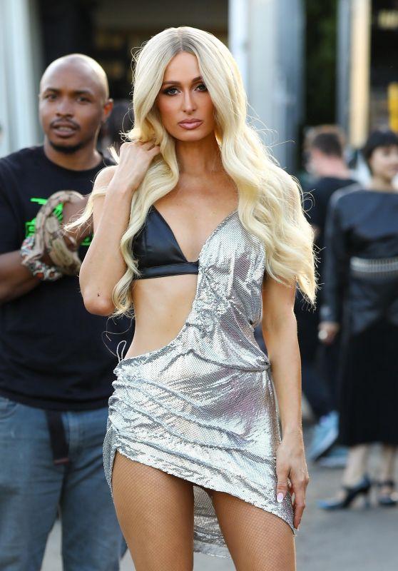 Paris Hilton - Shooting A Wild L.A Music Video 05/02/2019