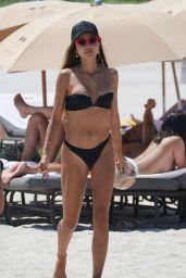 Patricia Contreras in Bikini on the Beach in Miami 05/05/2019