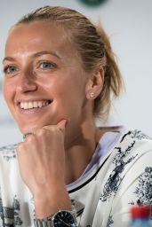 Petra Kvitova - Talks to the Press Ahead of the Roland Garros in Paris 05/24/2019
