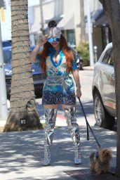 Phoebe Price - Walk Her Dog in Beverly Hills 05/17/2019