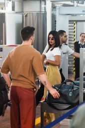 Priyanka Chopra and Nick Jona at the Airport in Nice 05/19/2019