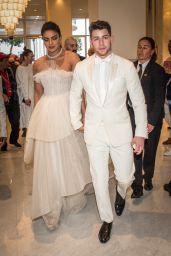 Priyanka Chopra and Nick Jonas - Martinez Hotel in Cannes 05/18/2019