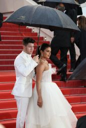 "Priyanka Chopra and Nick Jonas – ""The Best Years of a Life"" Red Carpet at Cannes Film Festival"