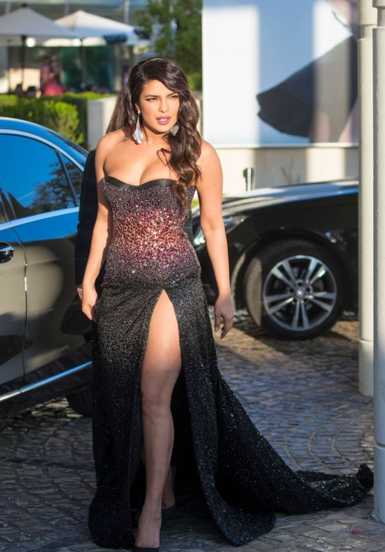 Priyanka Chopra - Arriving at the Martinez Hotel in Cannes 05/16/2019