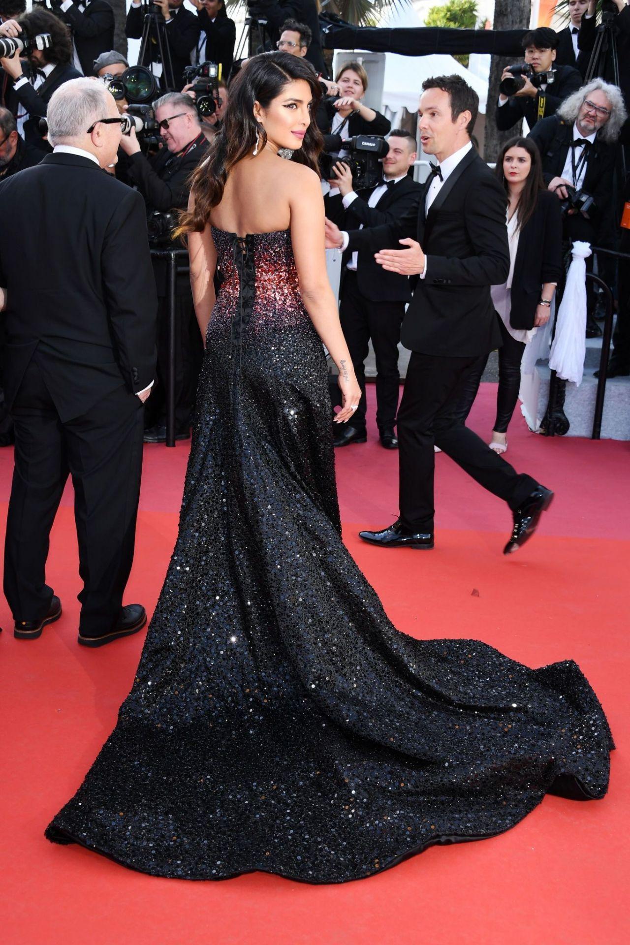 "Priyanka Chopra - ""5B"" Red Carpet at Cannes Film Festival ..."