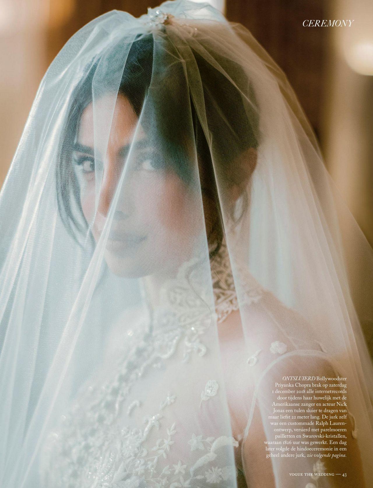 Cocktailjurk Bruiloft 2019.Priyanka Chopra Vogue Netherlands June 2019
