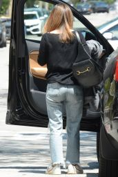 Rachel Bilson in Ripped Jeans - Out in Los Angeles 05/13/2019