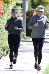 Reese Witherspoon - Jog With a Friend in Brentwood 05/27/2019