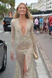 Romee Strijd - Hotel Martinez in Route for the 72nd Cannes International Film Festival 05/14/2019