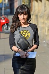 Roxanne Pallett - Music for Your Mind Event in Manchester 05/13/2019