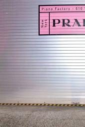 Sadie Sink - Prada Resort 2020 Fashion Show in NYC