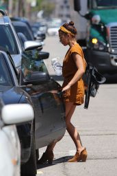 Sarah Hyland - Leaving a SPA in LA 05/29/2019