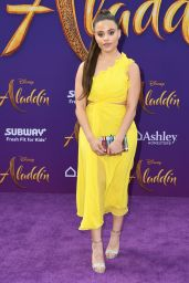 "Sarah Jeffery – ""Aladdin"" Premiere in Hollywood"