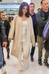 Selena Gomez in Travel Outfit - Nice Airport in France 05/13/2019