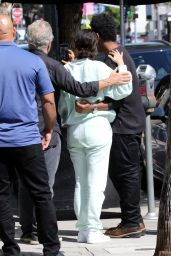 Selena Gomez - Leaving Lunch at Joan