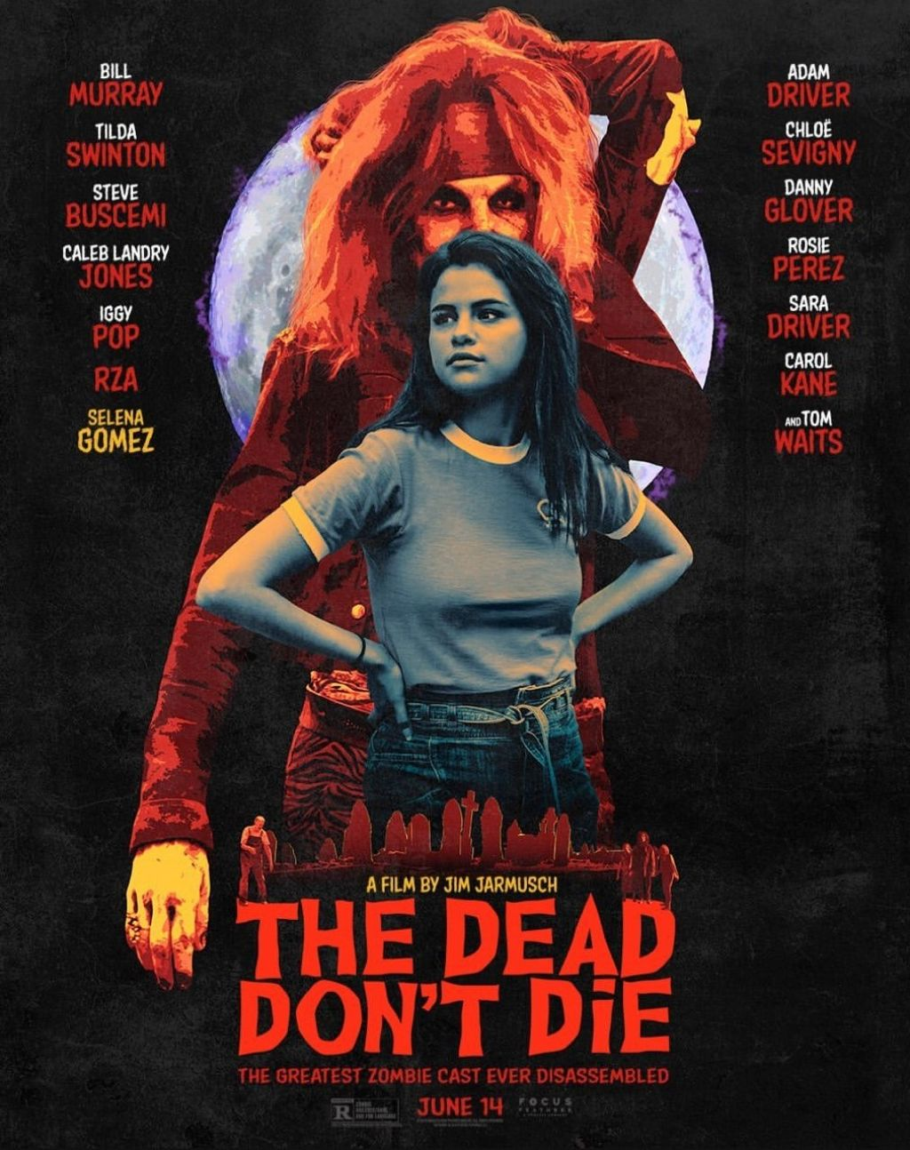 "Selena Gomez - ""The Dead Don't Die"" Poster and Trailer"
