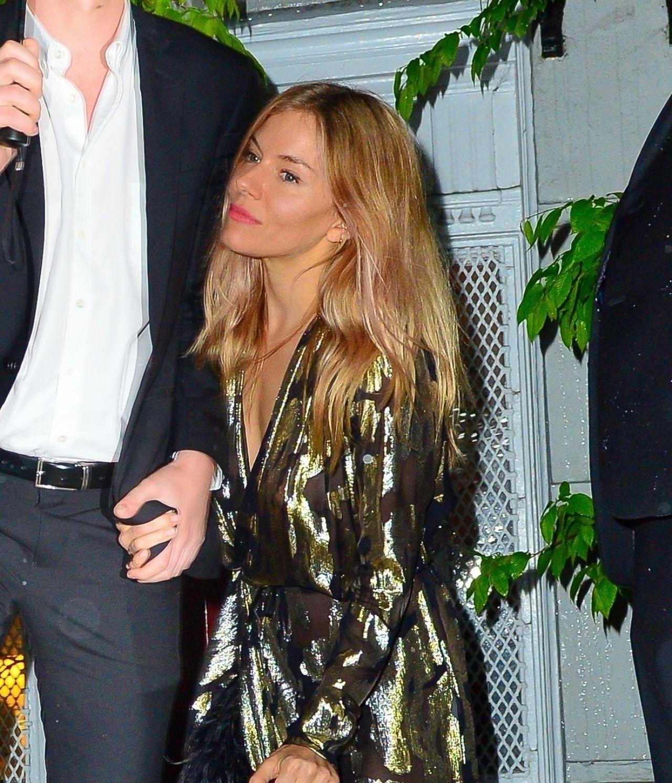 Sienna Miller And Tom Sturridge At Anna Wintour S