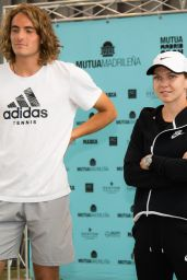 Simona Halep - Meets Junior Players at the Mutua Madrid Open Tennis Tournament, May 2019