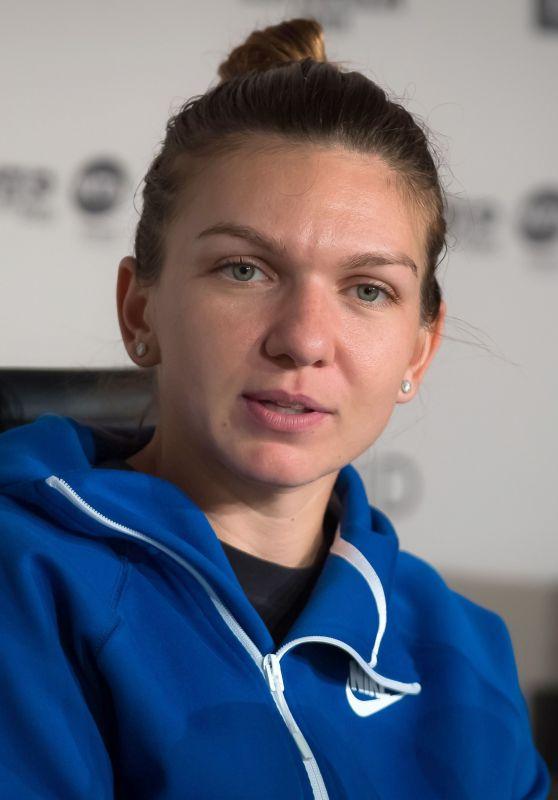 Simona Halep Talks to the Press - Mutua Madrid Open Tennis Tournament 05/09/2019