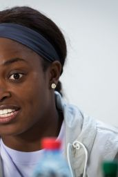 Sloane Stephens Talks to the Press - Roland Garros in Paris 05/24/2019